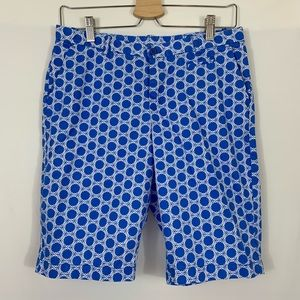 Lands' End Kids Blue and White Shorts